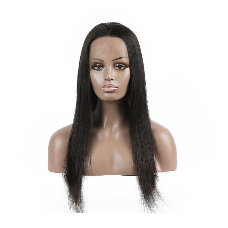 Very Soft Hair Human Hair Full Lace Wig Realistic Human Hair Wigs Straight