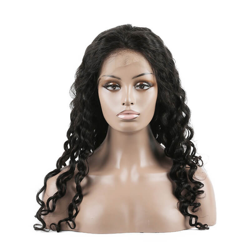 Popular Selling And Romantic Style For Party Best Human Hair Wigs Water Wave