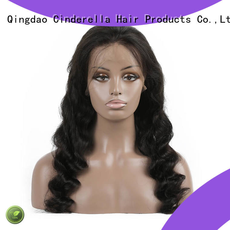 Cinderella best human hair wigs for business