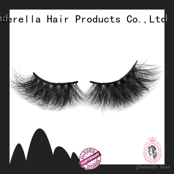 Cinderella Wholesale long mink eyelashes factory