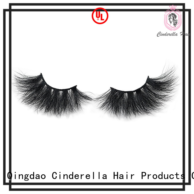 Cinderella Custom mink hair eyelashes for business