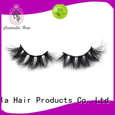Cinderella Custom mink individual eyelashes company