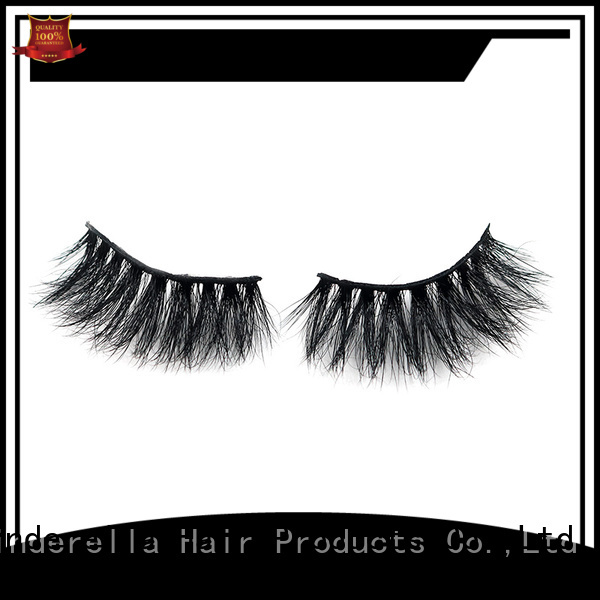 Cinderella Latest mink hair eyelashes Suppliers