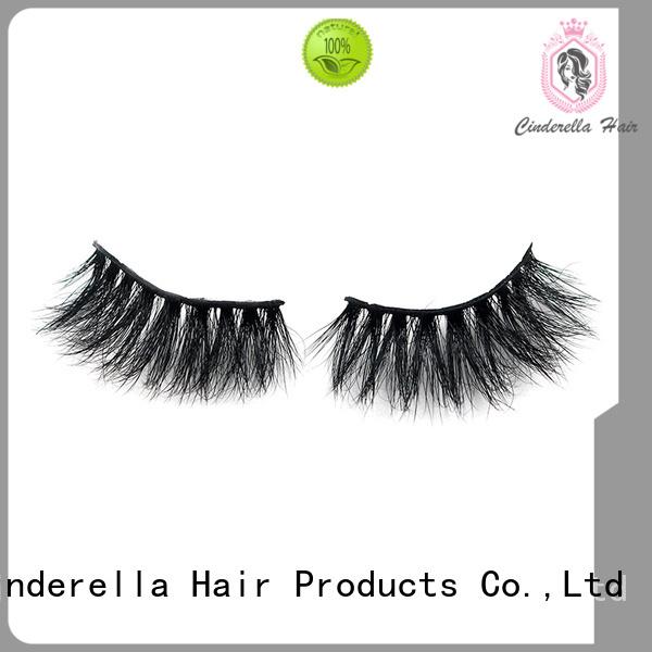Custom luxury mink eyelashes Supply