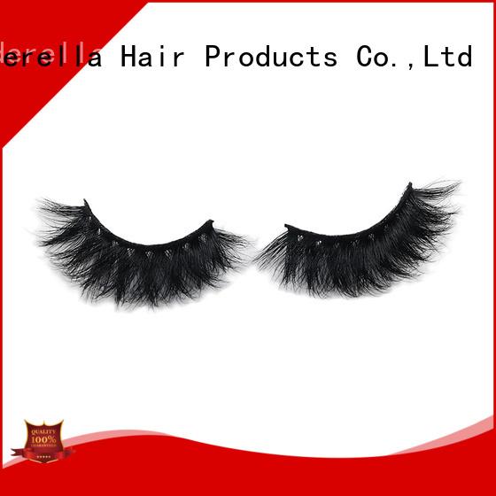 Cinderella mink fur eyelashes for business