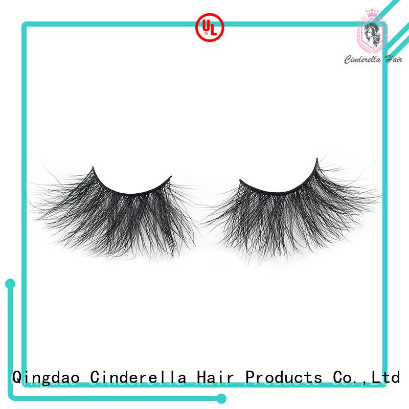 Cinderella Wholesale faux mink eyelashes factory