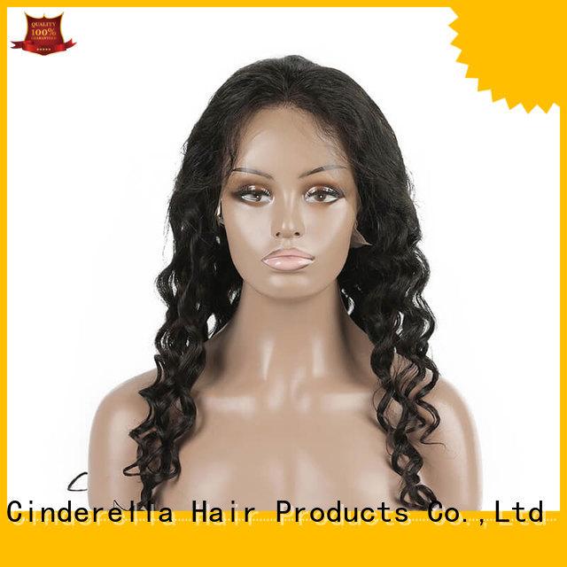 Cinderella best human hair wigs factory