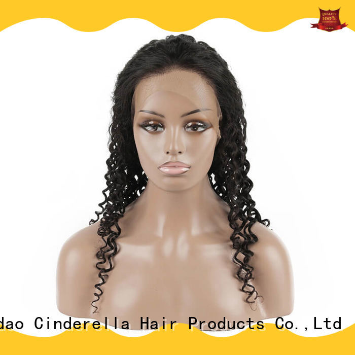 Cinderella all human hair wigs Supply