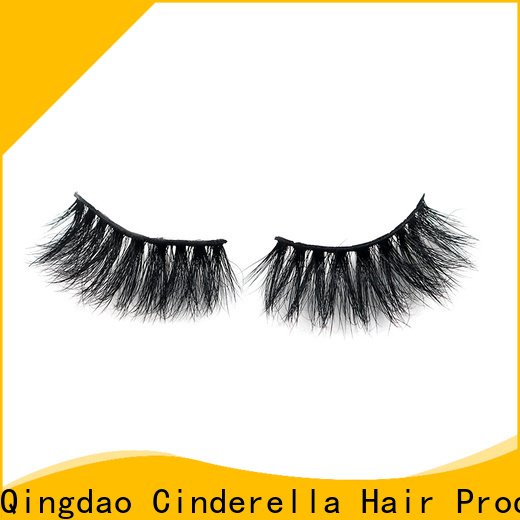 Cinderella Custom best affordable mink lashes Suppliers
