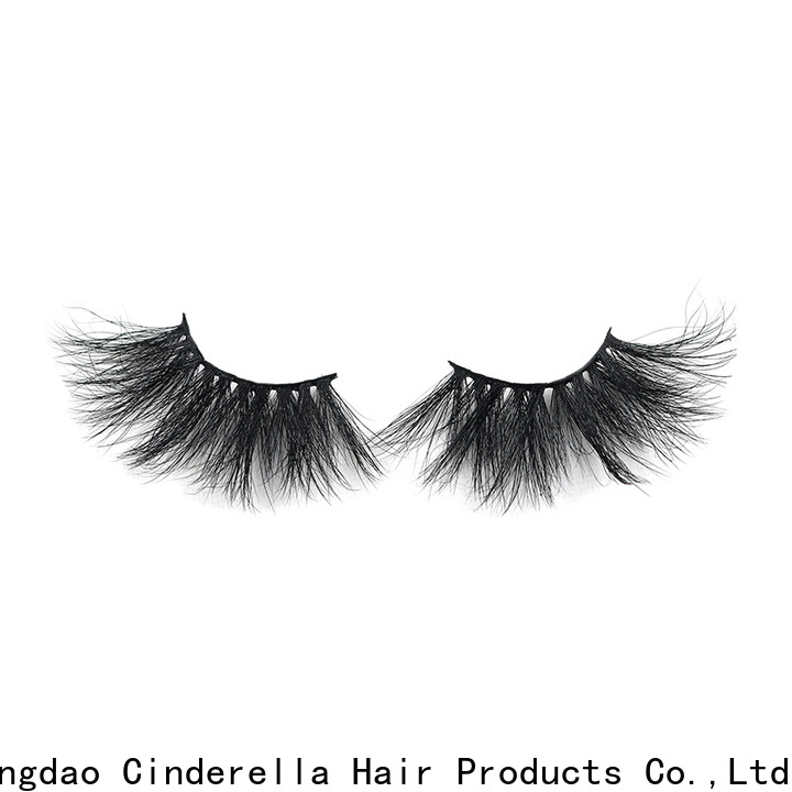 High-quality mink fur lashes factory