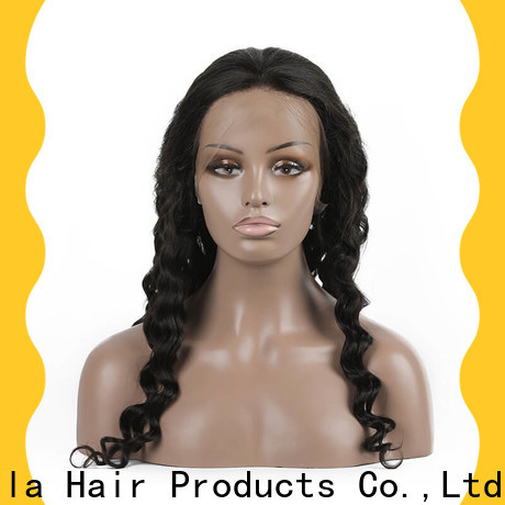 Latest affordable human hair wigs factory