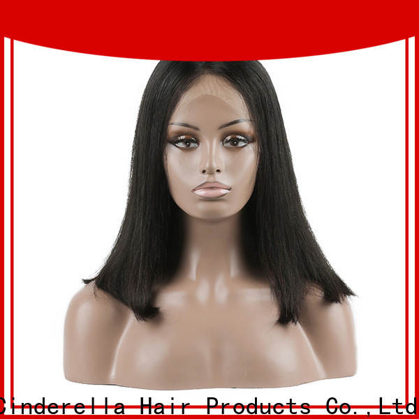 Cinderella real hair full wigs factory