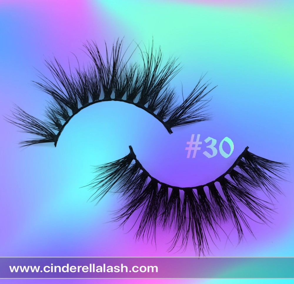 Wholesale 100% Handmade 3D Mink Eyelash At Factory Price