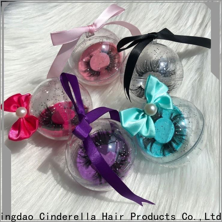 Cinderella Custom top lash mink eyelashes company