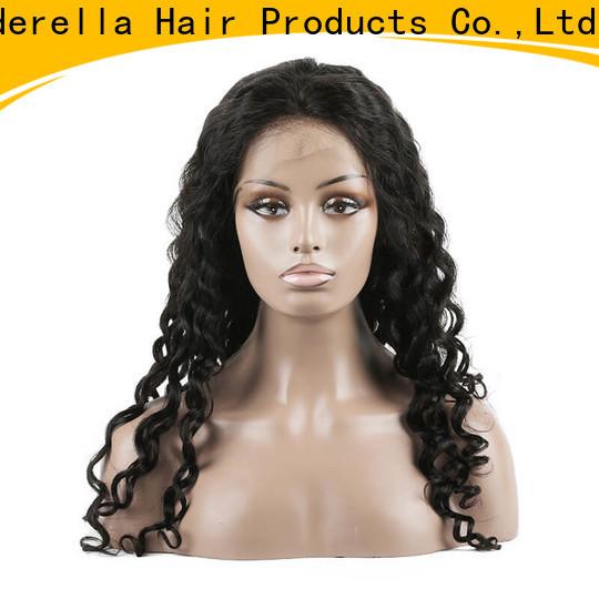 Cinderella european human hair wigs for business