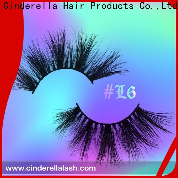 Cinderella New luxury false lashes manufacturers
