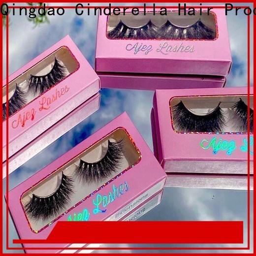 Custom silk mink eyelashes Supply