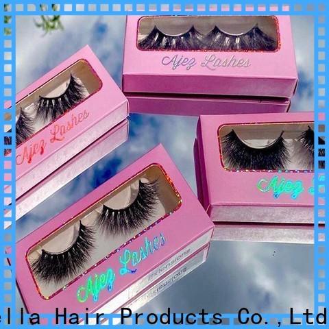 Cinderella New silk mink eyelashes Suppliers