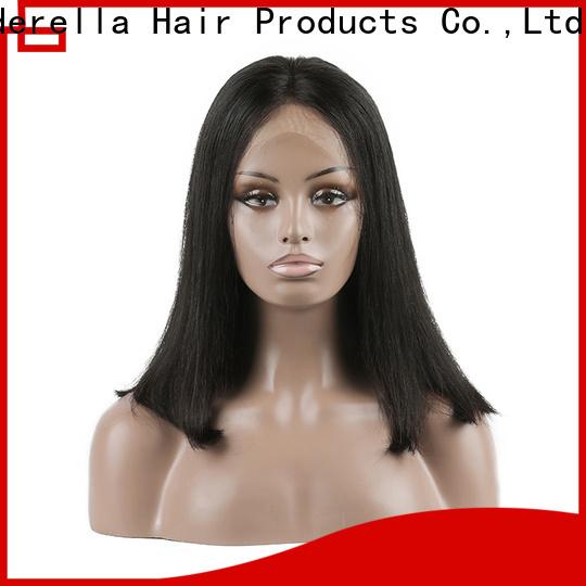 New frontal wigs human hair company