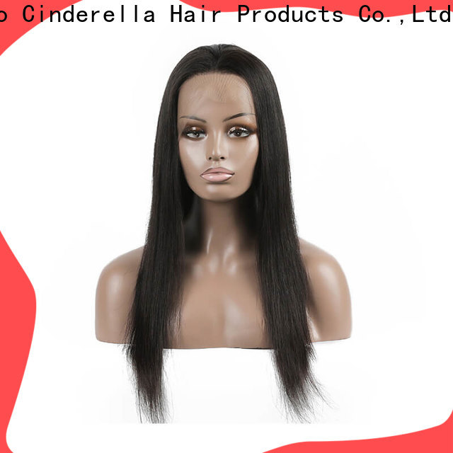 Cinderella natural real hair wigs factory