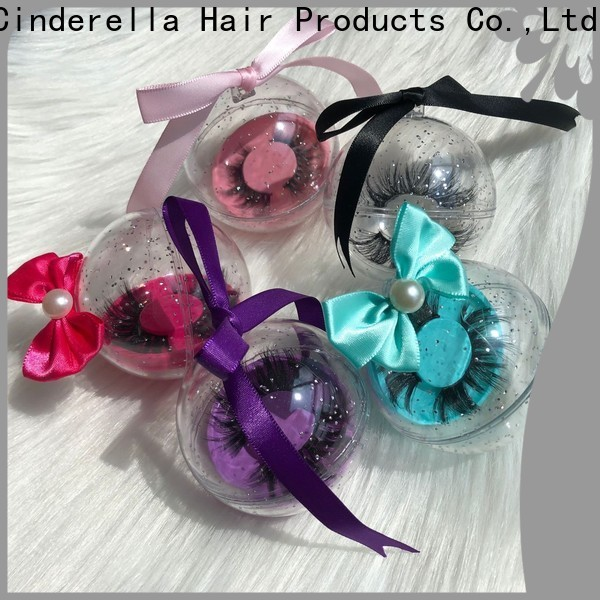 Cinderella Custom mink lashes real mink for business