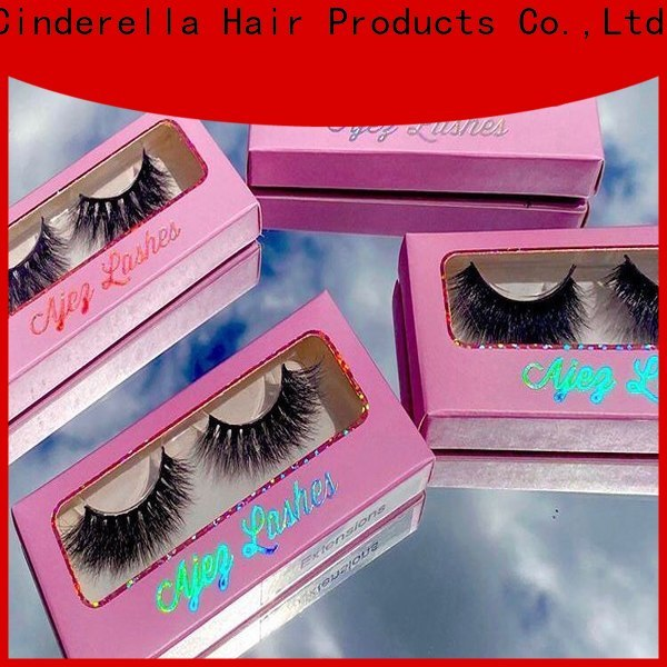 Cinderella High-quality individual eyelash extensions prices factory