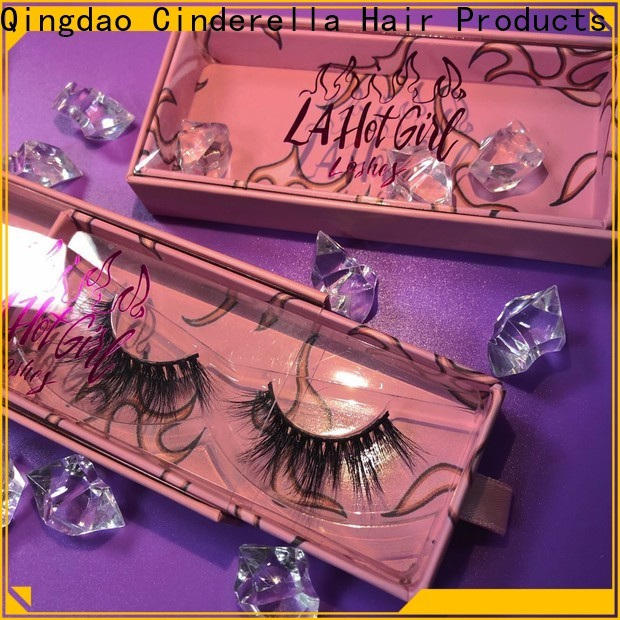 Cinderella mink eyelashes made from for business