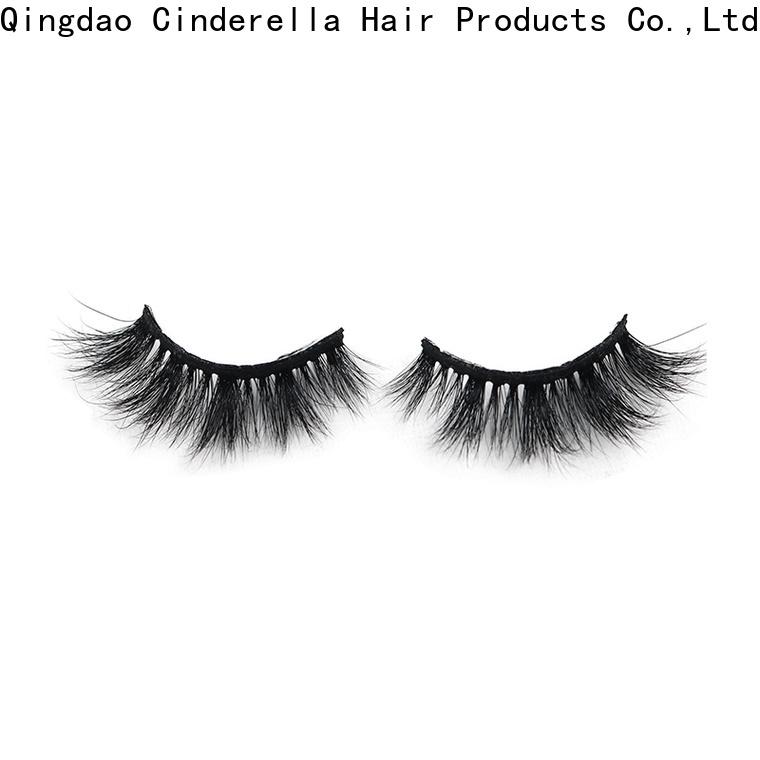 Cinderella Custom thick mink eyelashes Suppliers