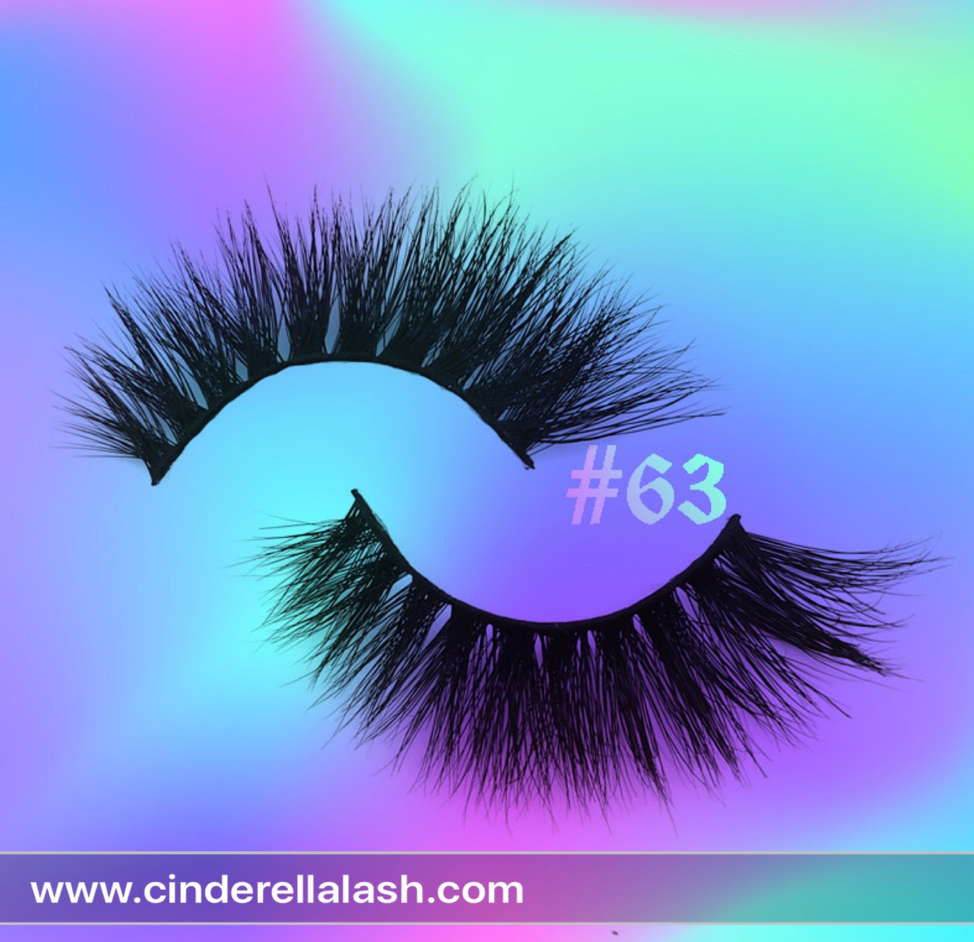 Cinderella cheap mink false eyelashes for business