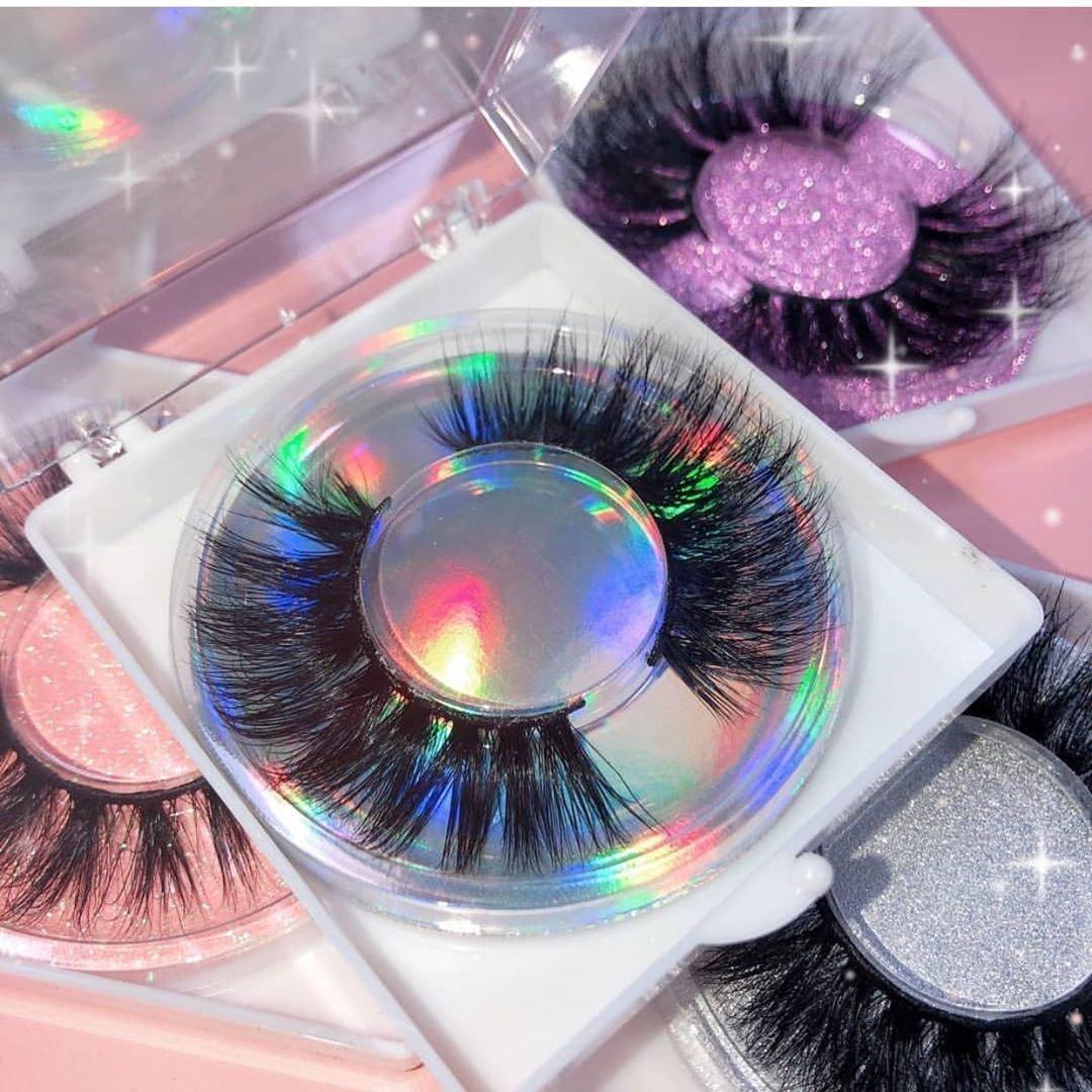 Custom silk lashes eyelash extensions for business