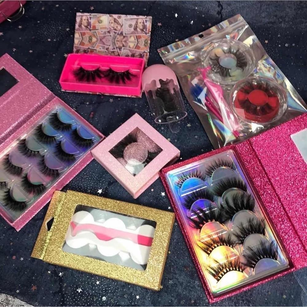 Oem Soft And Natural 3D Mink Eyelash Book Wholesale